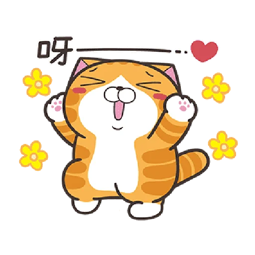 白爛貓19 - Sticker 1