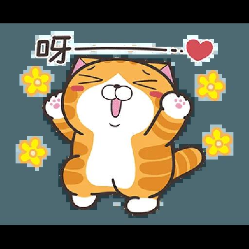 白爛貓19 - Tray Sticker
