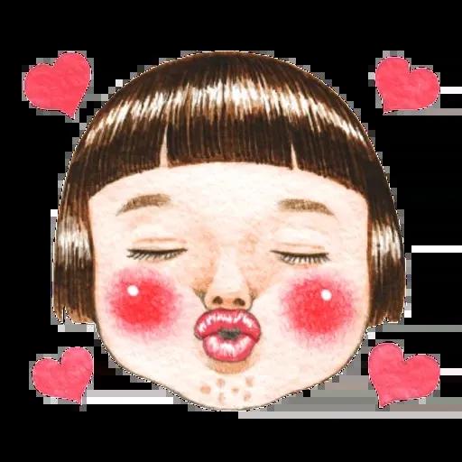 蘋果妹 - Sticker 13