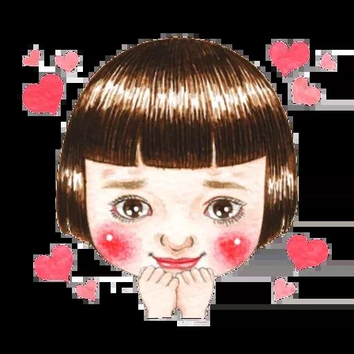 蘋果妹 - Sticker 3