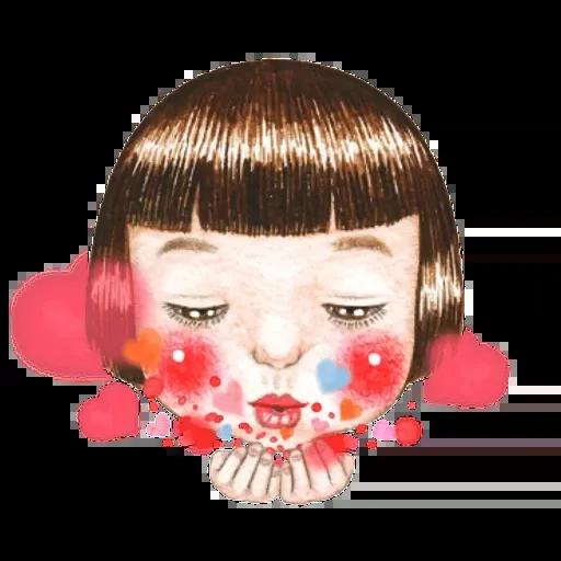 蘋果妹 - Sticker 10