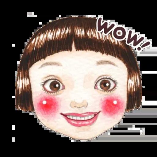 蘋果妹 - Sticker 2