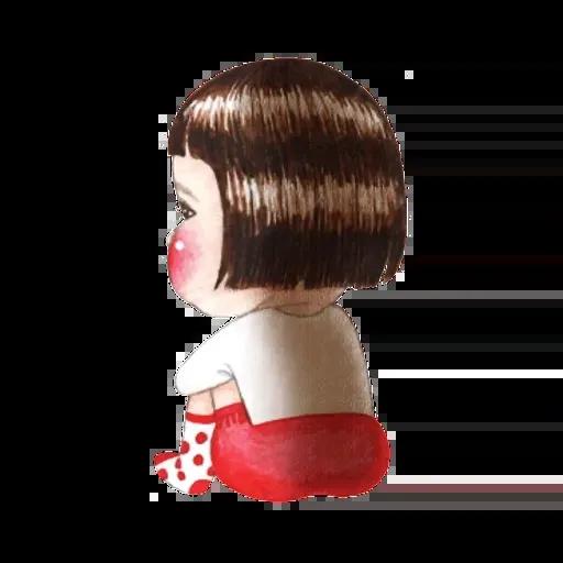 蘋果妹 - Sticker 12