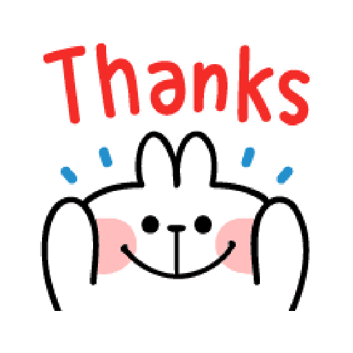 spoiled Rabbit A Word Emoji - Sticker 6