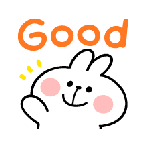 spoiled Rabbit A Word Emoji - Sticker 15