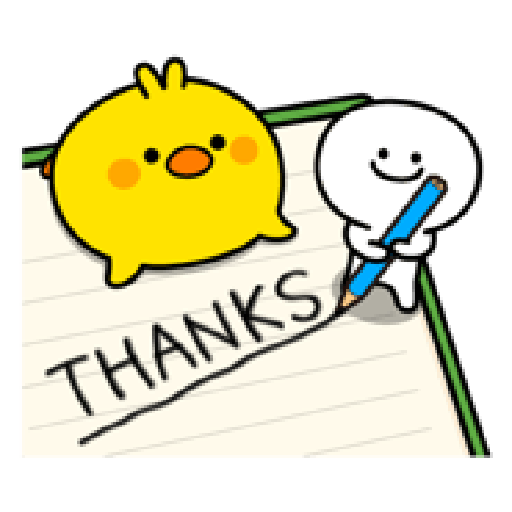 Small Smile person and Spoiled rabbit - Sticker 21