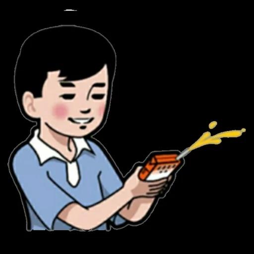 小明與好朋友 - Sticker 6