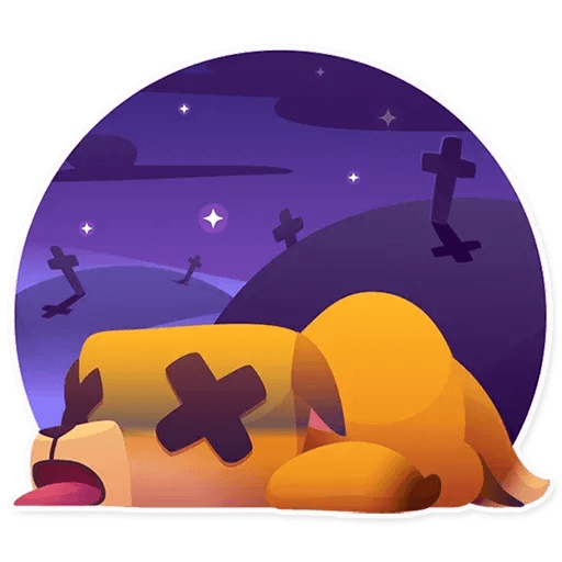 Moka the dog - Sticker 30