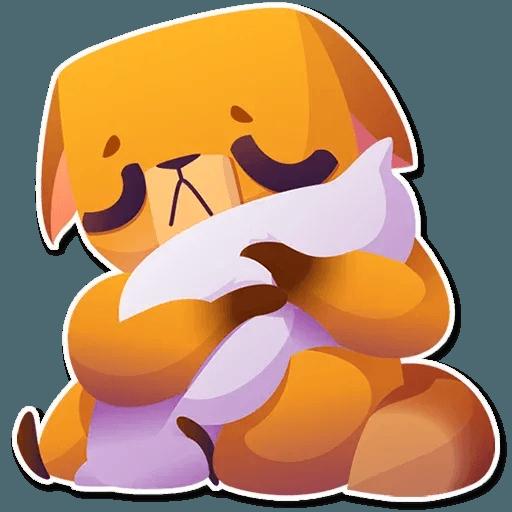 Moka the dog - Sticker 27