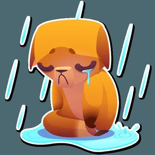 Moka the dog - Sticker 24