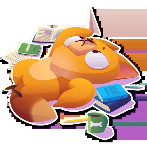 Moka the dog - Sticker 26