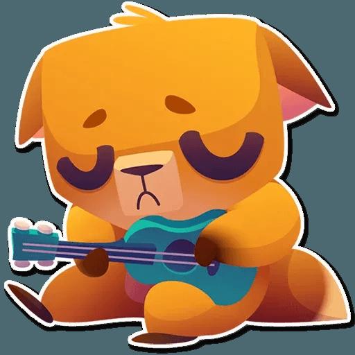 Moka the dog - Sticker 25