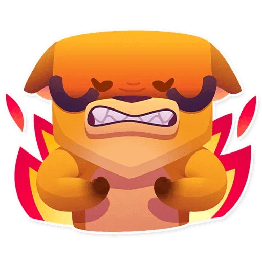 Moka the dog - Sticker 21