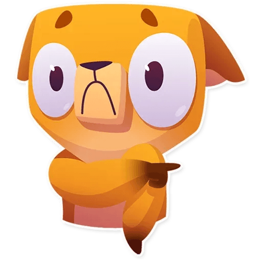Moka the dog - Sticker 28