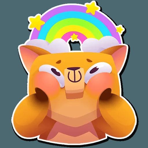 Moka the dog - Sticker 7