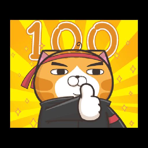 臭跩貓愛嗆人-白爛貓變裝秀 - Sticker 1