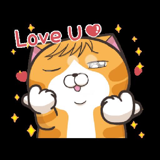 臭跩貓愛嗆人-白爛貓變裝秀 - Sticker 2