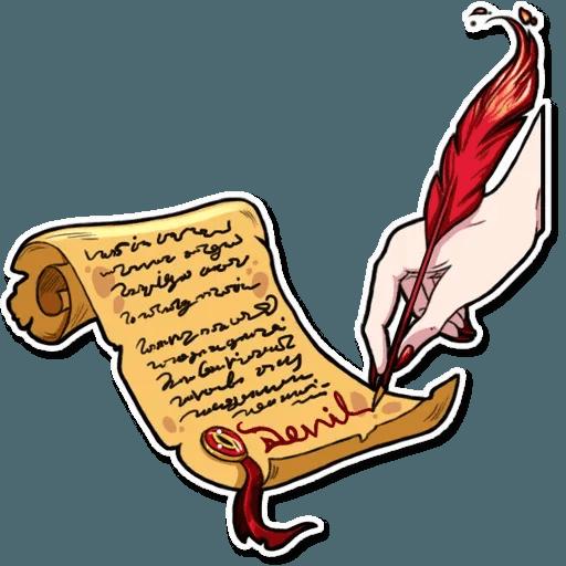 Miss Devil - Sticker 13