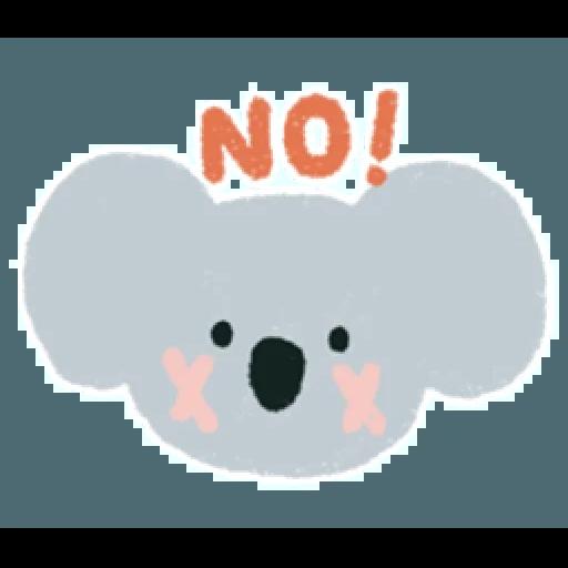 Koala2 - Tray Sticker