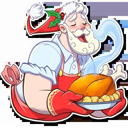 Santa Claus - Sticker 18