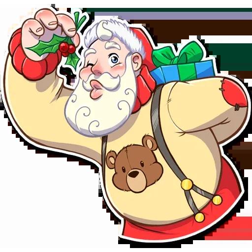 Santa Claus - Sticker 17