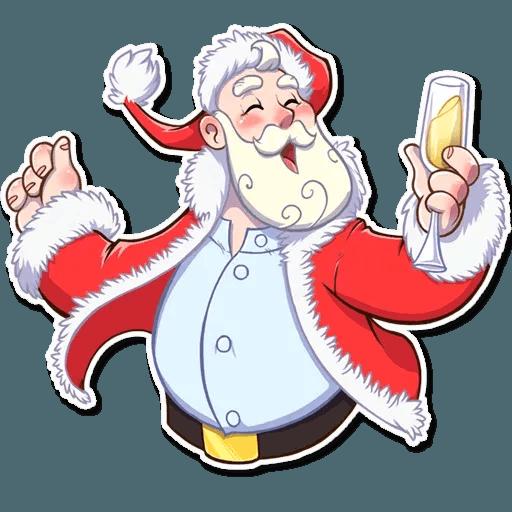 Santa Claus - Sticker 23