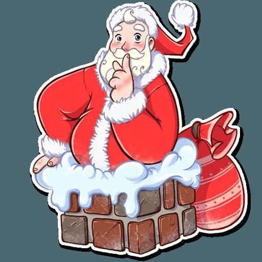 Santa Claus - Sticker 29
