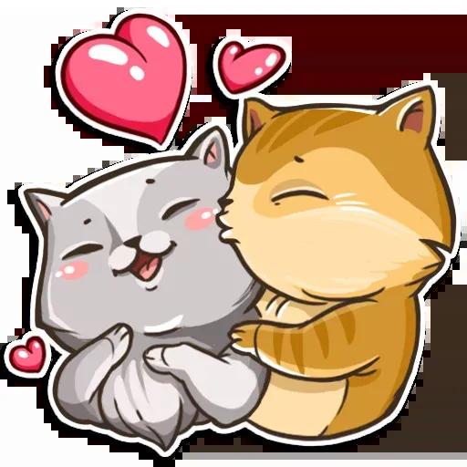 Cats - Tray Sticker