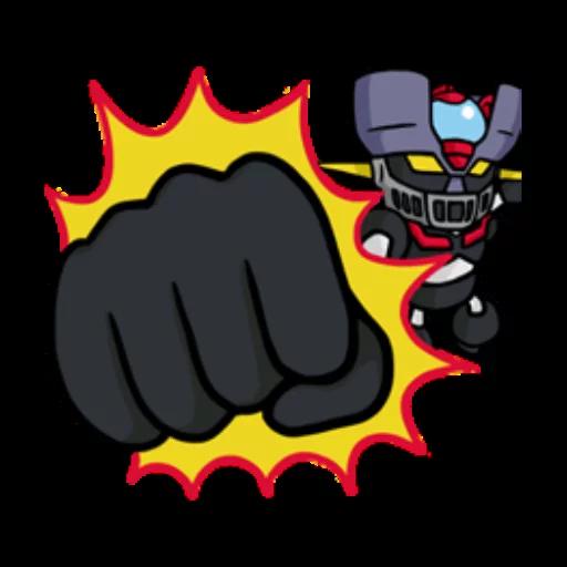Mazinger Z - Sticker 17