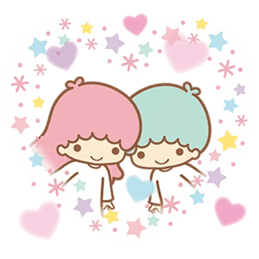 Little Twin Star Sparking - Sticker 5