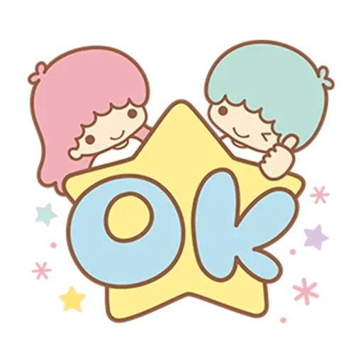 Little Twin Star Sparking - Sticker 2