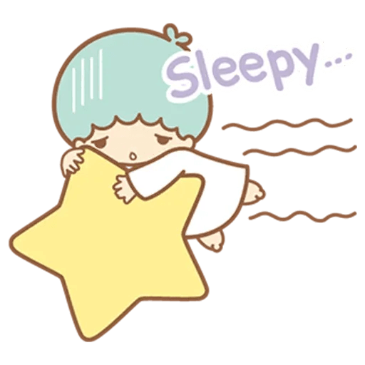 Little Twin Star Sparking - Sticker 18