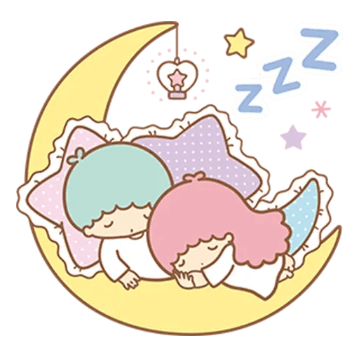 Little Twin Star Sparking - Sticker 15