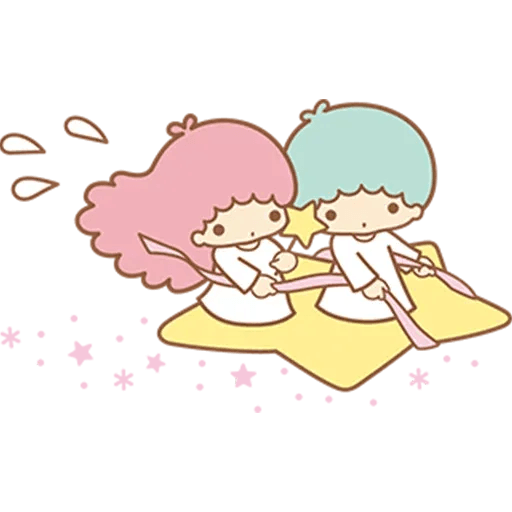 Little Twin Star Sparking - Sticker 24