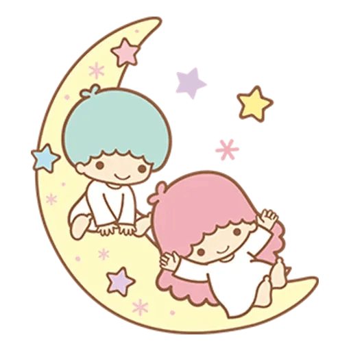 Little Twin Star Sparking - Sticker 20