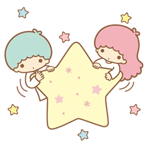 Little Twin Star Sparking - Sticker 16