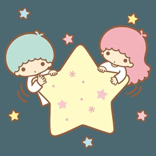 Little Twin Star Sparking - Sticker 16