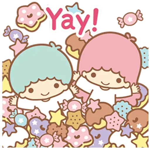 Little Twin Star Sparking - Sticker 10