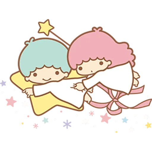 Little Twin Star Sparking - Sticker 4