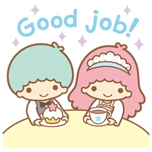 Little Twin Star Sparking - Sticker 12