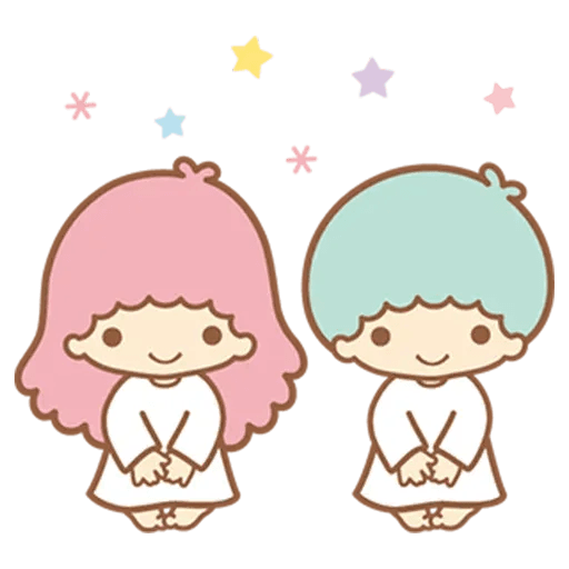 Little Twin Star Sparking - Sticker 8