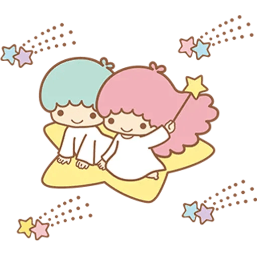 Little Twin Star Sparking - Sticker 21