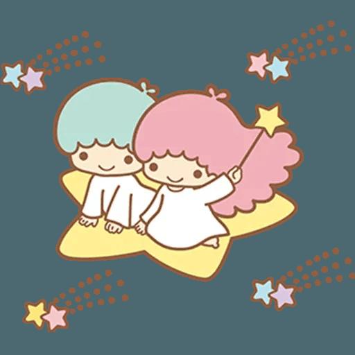 Little Twin Star Sparking - Sticker 21
