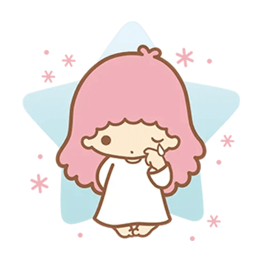 Little Twin Star Sparking - Sticker 22