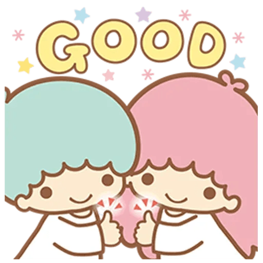 Little Twin Star Sparking - Sticker 7