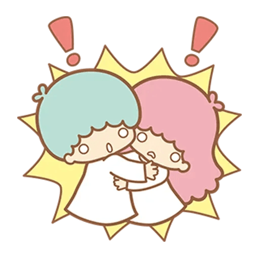 Little Twin Star Sparking - Sticker 13