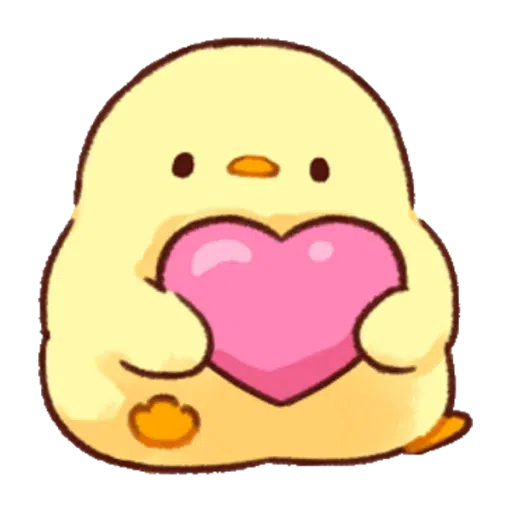 Soft and Cute Chick 0202 - Sticker 2