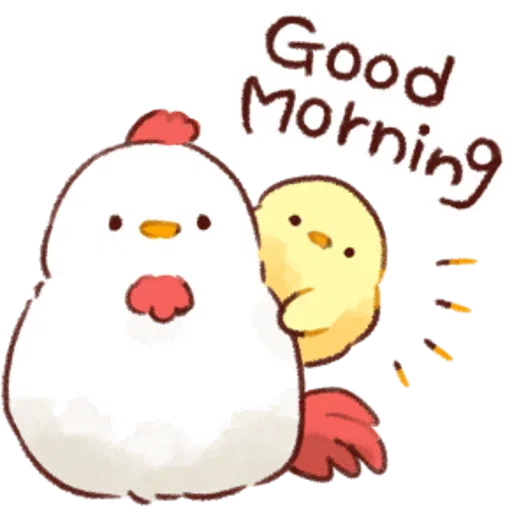 Soft and Cute Chick 0202 - Sticker 21