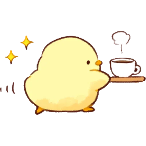 Soft and Cute Chick 0202 - Sticker 24