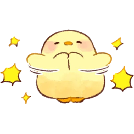 Soft and Cute Chick 0202 - Sticker 25